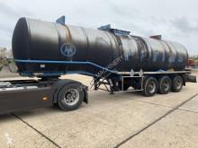 Fruehauf tanker semi-trailer 31.075 Liters - BITUMEN - 1 COMPARTIMENT - F - STEEL SPRING / SUPS. LAMES / BLATTFEDERUNG / BALLIESTAS