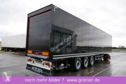 Schmitz Cargobull box semi-trailer SKO 24/ ROLLTOR / ZURRLEISTE / SCHWARZ !!!!!!!!!