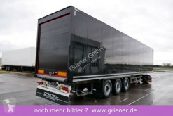 Semi remorque Schmitz Cargobull SKO 24/ ROLLTOR / ZURRLEISTE / SCHWARZ !!!!!!!!! fourgon occasion