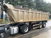 Semi remorque benne Benalu 25m³ - Fruehauf Tipper / Benne - F - STEEL SPRING / LAMES - alu / alu - good condition / bonne etat condition
