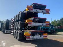 Trailer houtvrachtwagen Euromix EUROMIX MTP semi remorque grumier