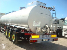 Magyar inox 38t semi-trailer used chemical tanker