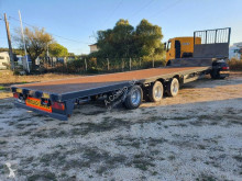 Lecitrailer LTCC - 3E semi-trailer used straw carrier flatbed
