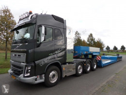 Goldhofer heavy equipment transport semi-trailer STZ-VL4-43/80A Low Loader