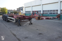 Semirimorchio portacontainers Van Hool Container chassis 3-assig / 40ft. / 30ft. / 2x 20ft.