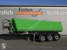 Semi remorque benne Schmitz Cargobull SGF S3, 23 m³ Alumulde, Luft/Lift, Rollplane