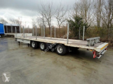 Heavy equipment transport semi-trailer 3 Achs Satteltieflader Platofür Fertigteile, Ba