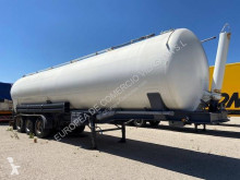 Indox cisterna basculante semi-trailer used powder tanker
