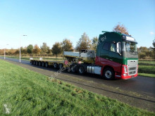 Semi remorque Goldhofer STZ-P 8-91/80A (2+6) Extendable Semi Low loader porte engins occasion