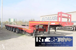 Capperi carrellone eccezioanale 6assi usato semi-trailer used heavy equipment transport