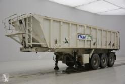 Stas tipper semi-trailer 25 cub in alu