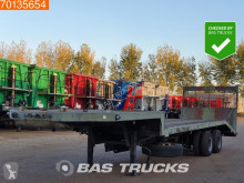 Netam flatbed semi-trailer Steelsuspension 8 Tyres BPW Axles