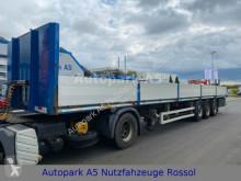Doll P3S-0 Auflieger Plattform BPW-Achsen semi-trailer used dropside flatbed