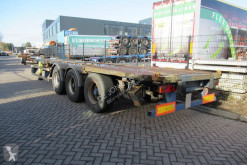 Semi remorque SNF CHASSIS / 1X 20 FT / 1X 30 FT / 2X 20 FT / 1X 40 FT CHASSIS porte containers accidentée