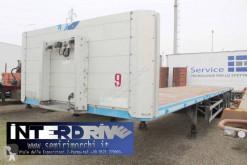 نصف مقطورة منصة حواجز الحاوية Schmitz Cargobull SCS semirimorchio pianale aperto usato