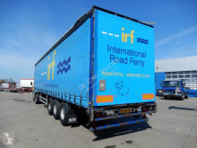 Pacton tautliner semi-trailer T3-001 Curtainside trailer / hardwood floor / Gigant Axles