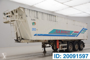 Leciñena 45 cub in alu semi-trailer used tipper