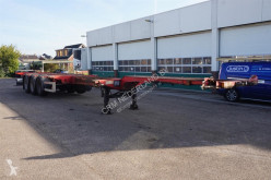 D-TEC Container chassis 45ft. / Multi / 3x uitschuifbaar / APK:19-04-2021 semi-trailer used container