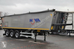 Mega tipper semi-trailer NOVA / TIPPER 41 M3 / 6300 KG / 2015 YEAR /