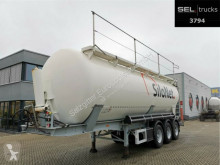 Feldbinder powder tanker semi-trailer Kippsilo KIP 45/5940/A/2 / 45.000l / Alu-Felgen