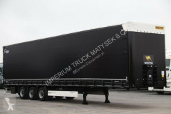 Wielton CURTAINSIDER/MEGA / LIFTED AXLE / LOW DECK/ XL semi-trailer used tarp
