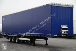 Semi remorque savoyarde Krone CURTAINSIDER /MEGA/ LOW DECK / LIFTED AXLE/XL