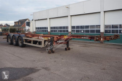 Van Hool container semi-trailer Container chassis 3-assig / 40ft. / 2x20ft. / 20ft.