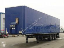 Semi remorque fourgon Schmitz Cargobull SKO 27 * SAF Achsen *