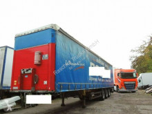 Semi reboque Schmitz Cargobull Pritsche/Plane*coilmulde 9.20 m* caixa aberta com lona usado