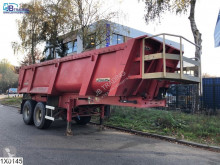 Semi remorque benne Trailor kipper Steel chassis and steel loading platform