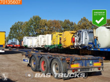 Semi remorque porte containers Meusburger 2x20-1x30-1x40ft Extending Chassis Liftachse