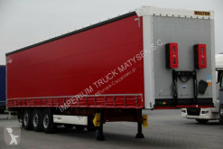 Wielton CURTAINSIDER/STANDARD / DOPPELSTOCK/LIFTED AXLE semi-trailer used tarp