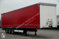 نصف مقطورة مغطاة Krone CURTAINSIDER/STANDARD /NEW TIRES /LIFTED AXLE
