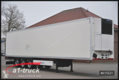 Krone refrigerated semi-trailer SD, Liftachse, Doppelstock, Vector 1950, SAF