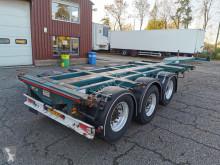 D-TEC container semi-trailer FT-43-03V MULTI 3-Assen MB - Disc Brakes - 2 Lift axles - 20FT SWAP - Alcoa's