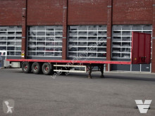 Broshuis flatbed semi-trailer Plateau - BPW Axle - Hard wood floor