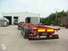 Semiremorca transport containere Asca PORTE CONTAINER 40 PIEDS MULTIPOSTIONS SUSPENSIONS LMECANIQUE FREINS TAMBOURS