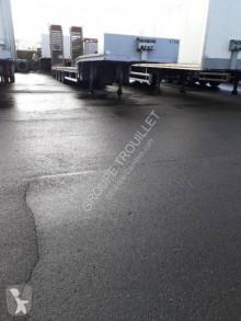 Samro SEMI REMORQUE PORTE-ENGINS SURBAISSEE 38T semi-trailer used heavy equipment transport
