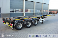 Pacton container semi-trailer ET3 | 2x20-30-40-45ft HC * MULTICHASSIS * APK 10-2021