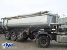 Carnehl tipper semi-trailer CHKS/HH, 26m³, Stahl, Rollplane, Luft-Lift
