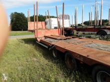 Faymonville heavy equipment transport semi-trailer surbaissée Leonet