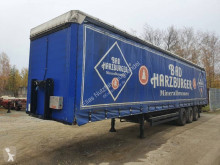 Kögel beverage delivery semi-trailer SNCO 24 Ladebordwand Liftachse Lenkachse