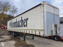 Semi remorque Schmitz Cargobull S 01 Gardine Edscha Liftachse verzinktes Chasis rideaux coulissants (plsc) occasion