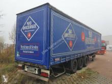 نصف مقطورة Schmitz Cargobull S 01 verinktes Chasis Liftachse Edscha ستائر منزلقة (plsc) مستعمل