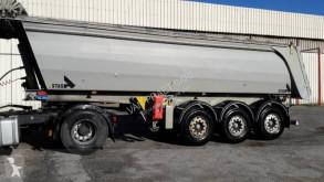 Stas semi-trailer used construction dump
