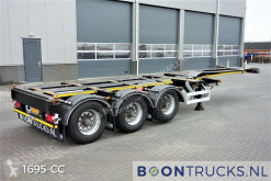 Semi remorque porte containers Pacton ET3 | 2x20-30-40-45ft HC * MULTICHASSIS * APK 11-2021