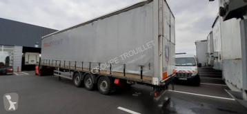 Samro SEMI REMORQUE PLSC 38T REHAUSSABLE semi-trailer used tautliner