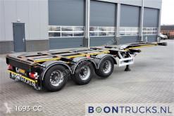 Félpótkocsi Pacton ET3 | 2x20-30-40-45ft HC * MULTICHASSIS * APK 11-2021 használt konténerszállító