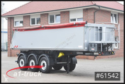 Carnehl tipper semi-trailer CHKS/AL 24m³ Alu,Thermo,Lift Tüv 07/21
