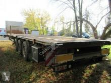 Kögel dropside flatbed semi-trailer Tele-Sattel, SFHB 24 mit Spannseilrollen